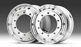 Llantas de aluminio para camiones